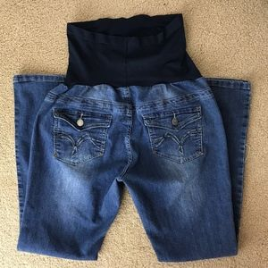 Bella Vida Maternity Stretch Jeans